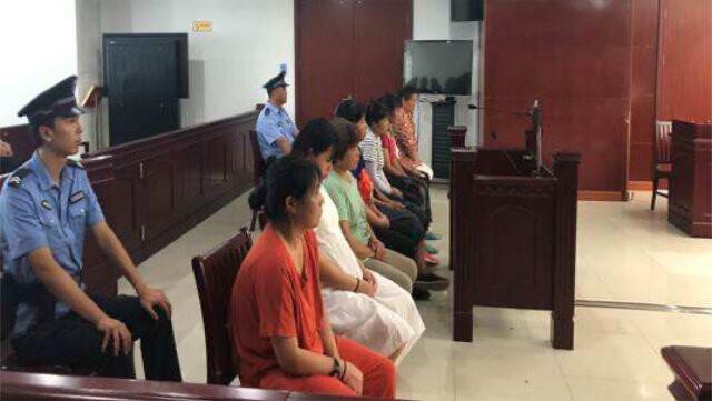 中级人民法院对10名基督徒进行宣判