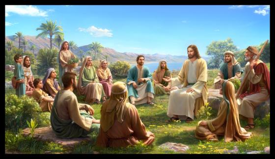 主耶穌在山上講道