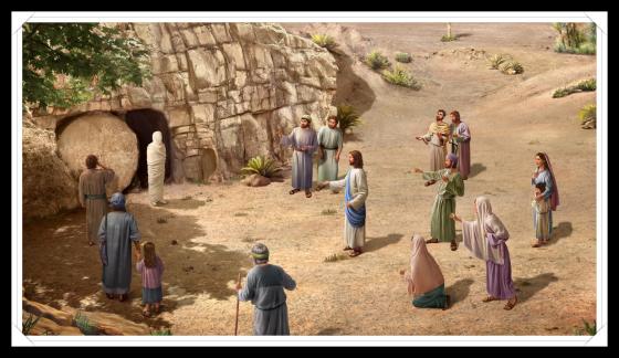 主耶穌讓拉撒路復活