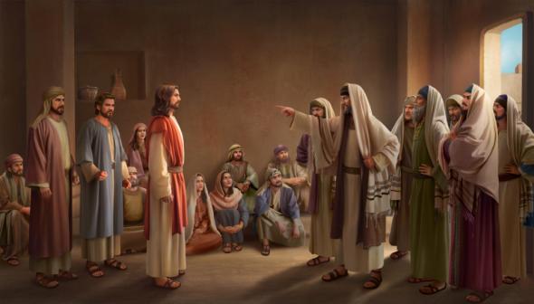 文士定罪和褻瀆主耶穌的囂張氣焰