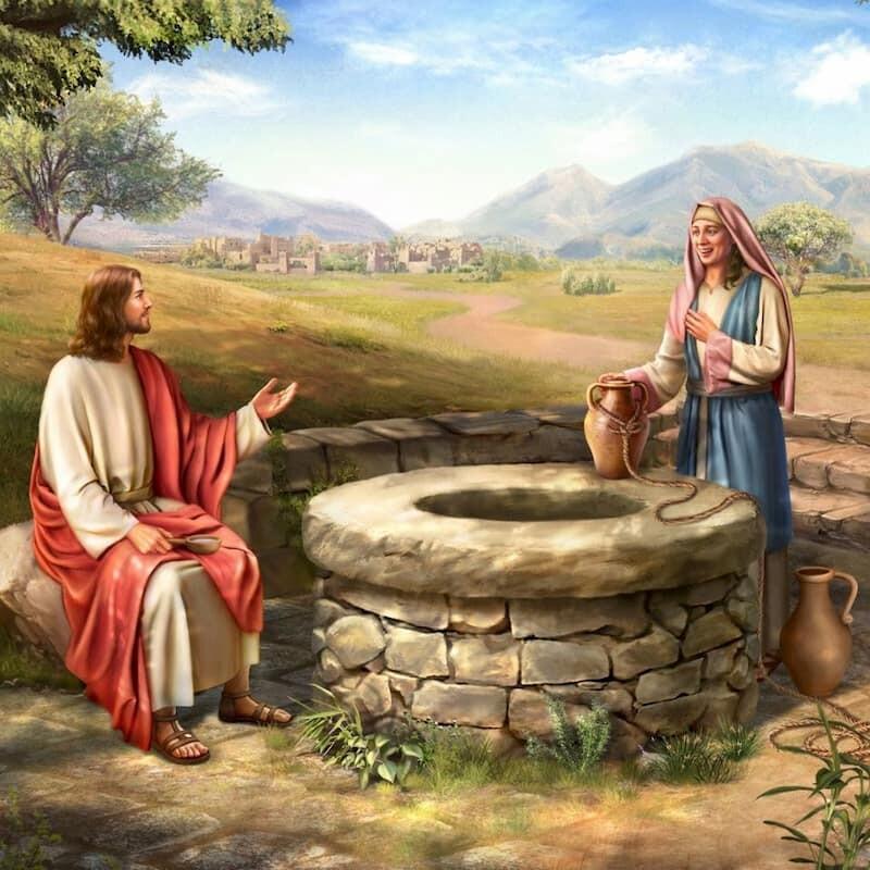 撒瑪利亞婦人與主耶穌的對話