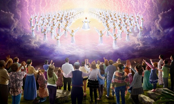 基督徒等候主耶穌駕雲降臨